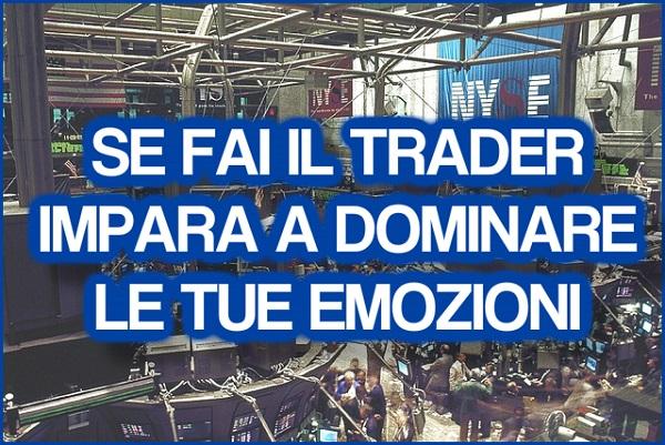 fare il trader