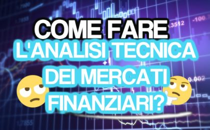come fare l'analisi tecnica