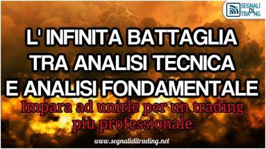 analisi tecnica o analisi fondamentale