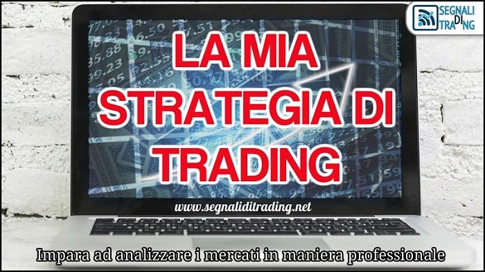 La mia strategia di Trading per l'analisi dei mercati finanziari