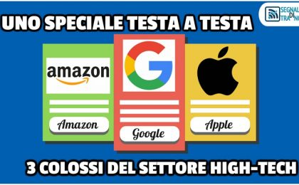 Amazon, Google ed Apple