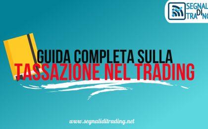 tassazione nel trading