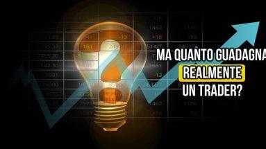 Quanto guadagna in borsa un trader professionista?