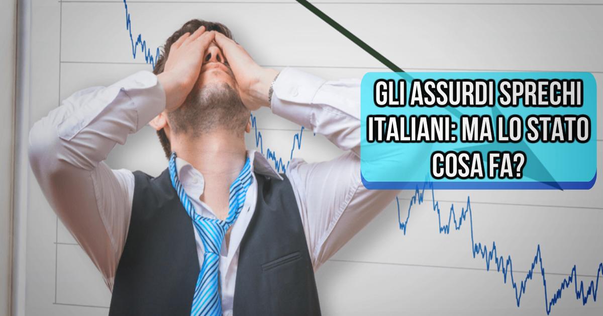Sprechi Italiani: ma dove vanno i soldi pubblici?